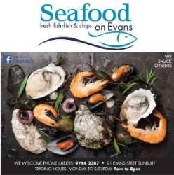 Seafood on Evans